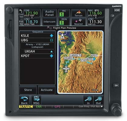 flight stream 210 by garmin