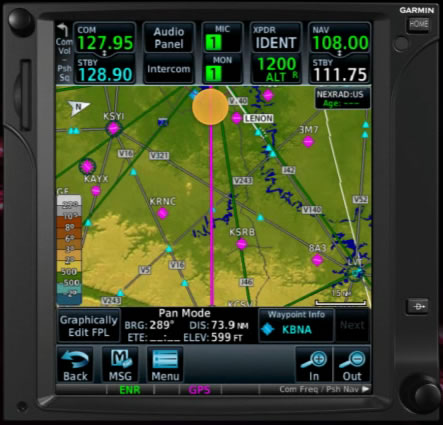 gtn 750 simplified navigation