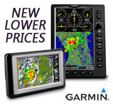 Reduced Prices on select Garmin Aviation GPS Portables