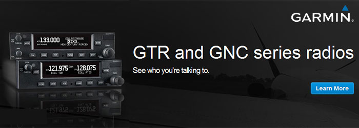 Garmin GTR and GNC Radios