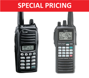 ICOM Handhelds Special Offer