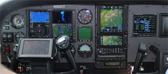 cessna aircraft panel image