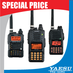 Yaesu Aviation Handheld Radios Special Pricing