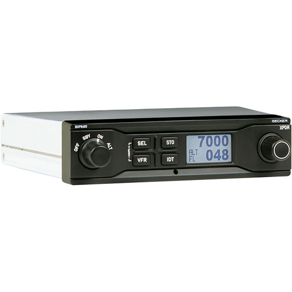 Becker avionics bxp6403 mode s transponder level 2 es bxp for Becker payment plan