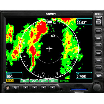 GMX-200 + RADAR & TRAFFIC image