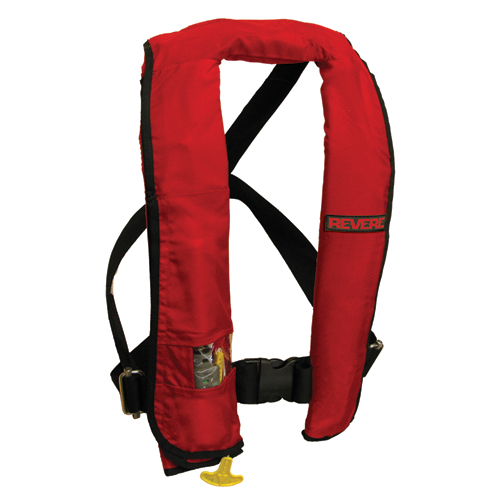 Click to view ComfortMax - Red/Manual w/Harness full image