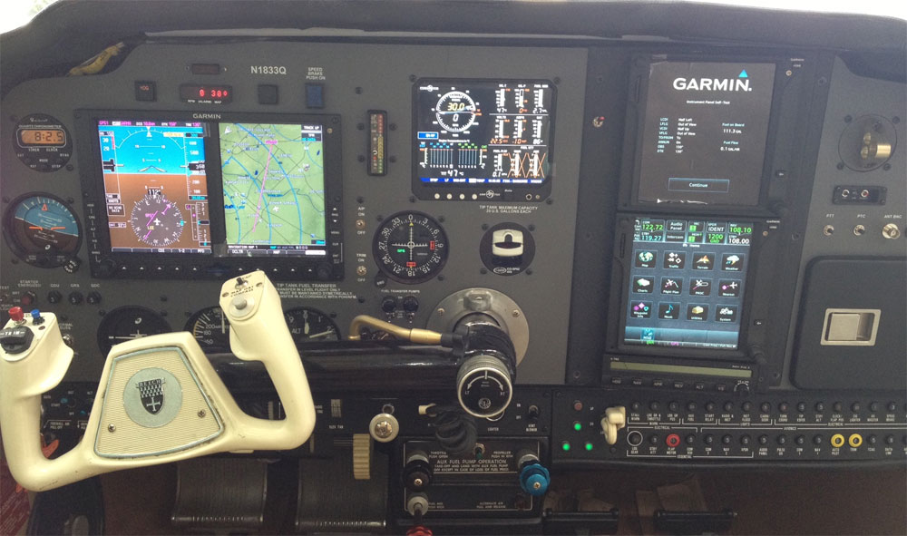 Garmin Tracking System >> Sarasota Avionics Aircraft Panel Gallery