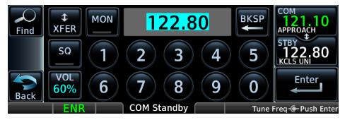 Garmin GNC 355/355A Touchscreen GPS/Comm (10W) 010-02232-xx