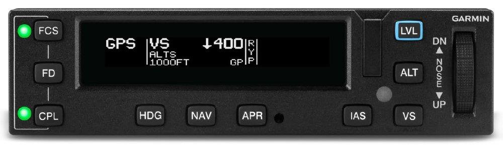 Garmin Unveils the GFC 600H Helicopter Flight Control System