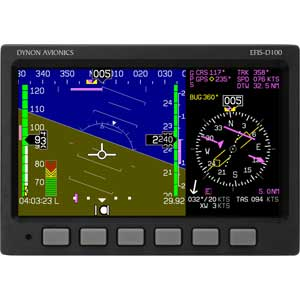 Click to view EFIS-D100 Super Bright full image