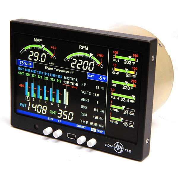Jp Instruments Edm 900 Primary Color Engine Management