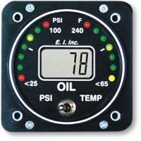 Oil Pressure-Temp - Oil Pressure and Oil Temperature gauges