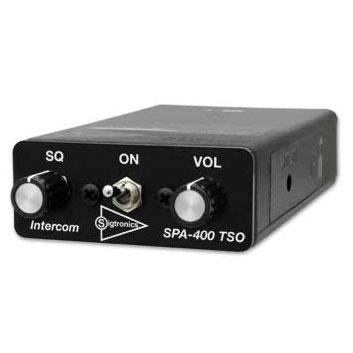 PilotUSA Portable 4 Place Aircraft Intercom with Music Capability