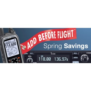 Icom Spring Savings Mail-in Rebate