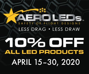 10% OFF AeroLED Products