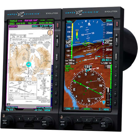 Aspen Avionics Reduces Prices – Adds Synthetic Vision Software Standard for NEW Pro MAX Flight Displays