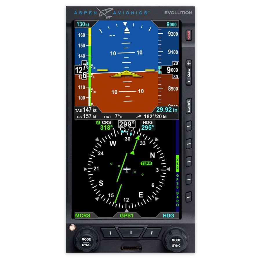 Aspen Avionics Evolution E5 Promo Bundle