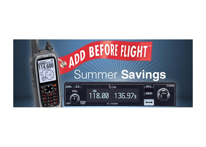Icom Summer Savings Mail-in Rebate