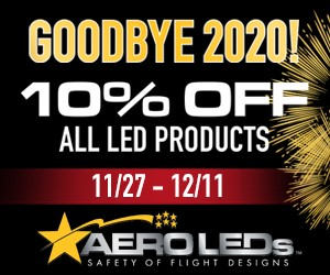 AeroLEDs End of Year Promotion 2020